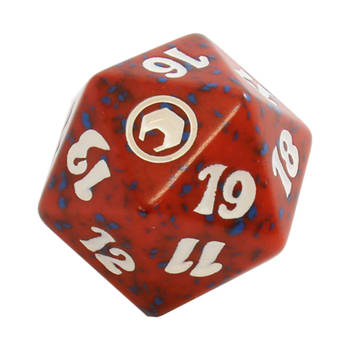 Scars of Mirrodin - D20 Spindown Life Counter - Red