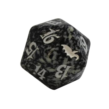 Shadowmoor - D20 Spindown Life Counter - Black
