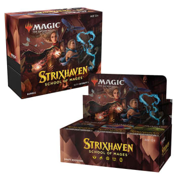 Strixhaven: School of Mages - Variety Pack - Draft Booster Box + Bundle