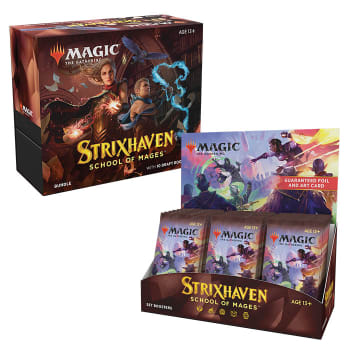 Strixhaven: School of Mages - Variety Pack - Set Booster Box + Bundle