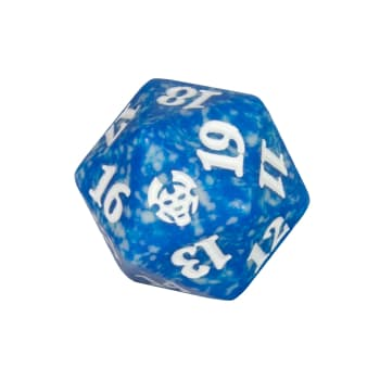 Theros Beyond Death - D20 Spindown Life Counter - Blue