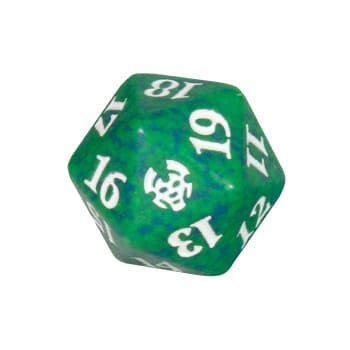 Theros Beyond Death - D20 Spindown Life Counter - Green