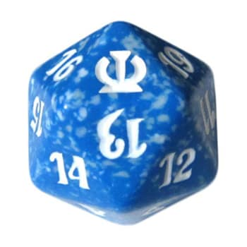 Theros - D20 Spindown Life Counter - Blue