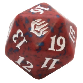 War of the Spark - D20 Spindown Life Counter - Red