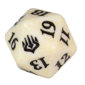 War of the Spark - D20 Spindown Life Counter - White