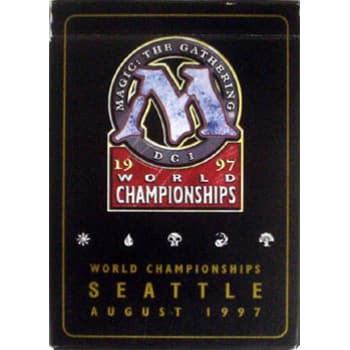 World Championship Deck (1997) - Svend Geersten Deck