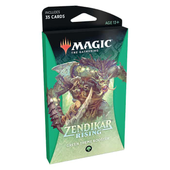 Zendikar Rising - Theme Booster - Green