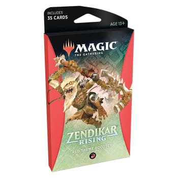 Zendikar Rising - Theme Booster - Red