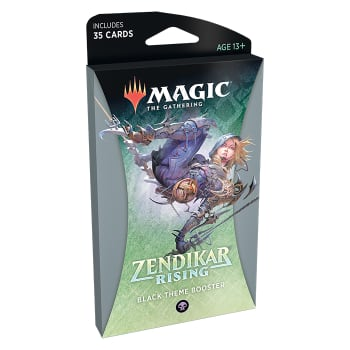 Zendikar Rising - Theme Booster - Black