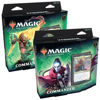 Zendikar Rising - Commander Deck - Set of 2