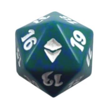 Zendikar - D20 Spindown Life Counter - Green