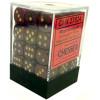 12mm d6 Dice Block: Borealis Magenta w/Gold Thumb Nail