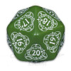 D20 Spindown Life Counter (1) - Green/White Thumb Nail