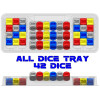 Zen Bins: SW Destiny All Dice - Trays 3-Pack (Clear) Thumb Nail