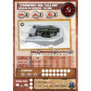 SSU Fortification Heavy Tesla Bunker//Strongpoint Gale Force 9 Tactics DUST