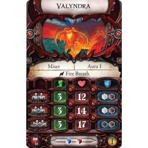 Descent Second Edition: Valyndra Lieutenant Miniature Pack