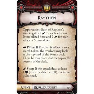 Descent Second Edition: Raythen Lieutenant Miniature Pack