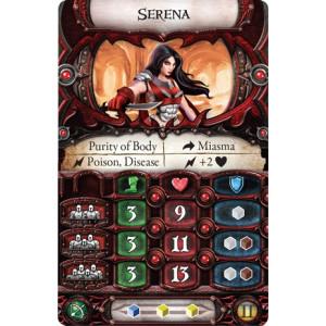 Descent Second Edition: Serena Lieutenant Miniature Pack