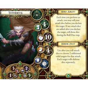Descent Second Edition: Crusade of the Forgotten Hero and Monster Collection