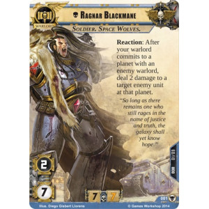 Warhammer 40,000 Conquest LCG: The Howl of Blackmane War Pack