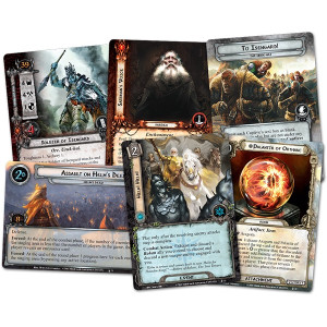 The Lord of the Rings LCG: The Treason of Saruman Saga Expansion