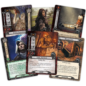 The Lord of the Rings LCG: Escape from Mount Gram Adventure Pack
