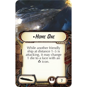Star Wars Armada: Home One Expansion Pack