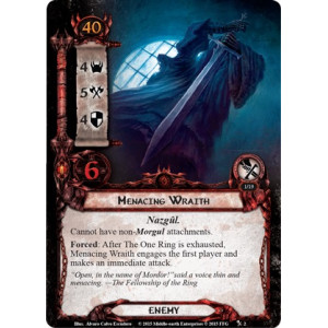 The Lord of the Rings LCG: The Black Riders Nightmare Deck