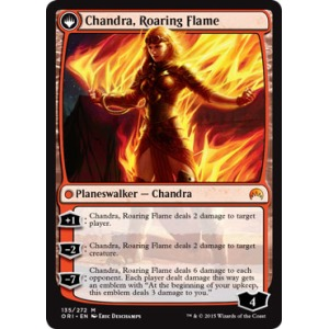 Chandra, Fire of Kaladesh // Chandra, Roaring Flame