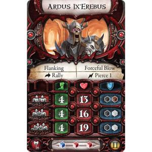 Descent Second Edition: Ardus Ix'Erebus Lieutenant Miniature Pack