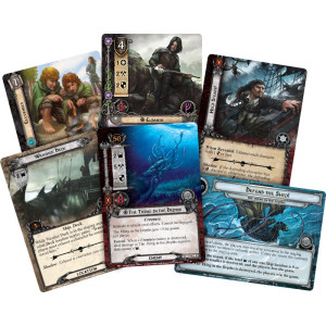 The Lord of the Rings LCG: The Thing in the Depths Adventure Pack