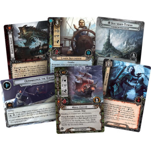 The Lord of the Rings LCG: A Storm on Cobas Haven Adventure Pack