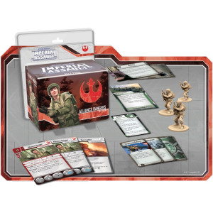 Star Wars Imperial Assault: Alliance Rangers Ally Pack