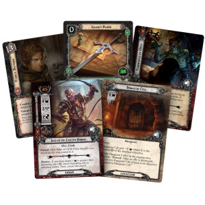 The Lord of the Rings LCG: The Dungeons of Cirith Gurat Adventure Pack