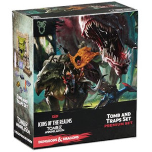 D&D Fantasy Miniatures: Icons of the Realms: Tomb of Annihilation  - Case Incentive Promo
