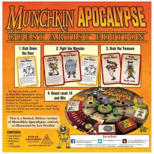 Munchkin: Apocalypse Guest Artist Edition (Len Peralta)