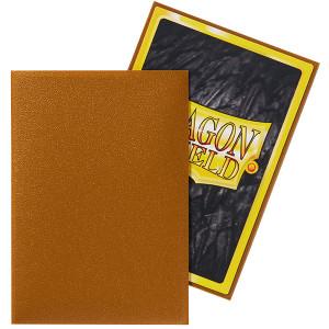 Dragon Shield Sleeves: Japanese Matte Gold (60)