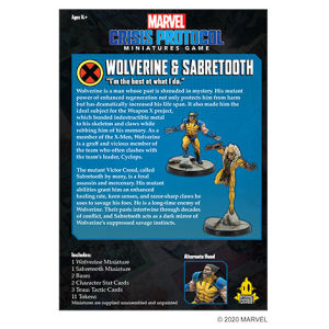 Marvel: Crisis Protocol - Wolverine & Sabretooth Character Pack