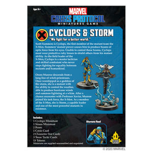 Marvel: Crisis Protocol - Cyclops & Storm Character Pack