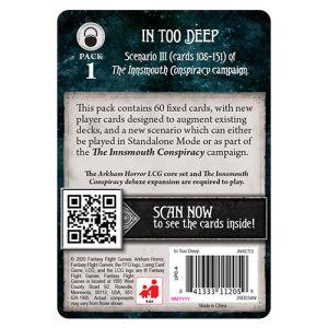 Arkham Horror LCG: In Too Deep Mythos Pack