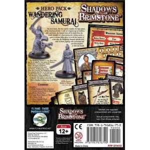 Shadows of Brimstone: Wandering Samurai Hero Pack