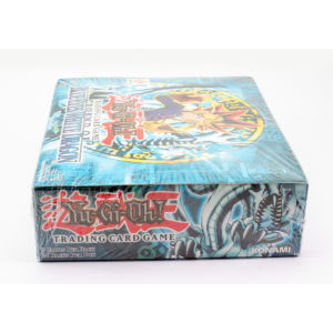 Legend of Blue-Eyes White Dragon 1st Edition Wavy Factory Sealed Booster Box