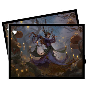 Innistrad Midnight Hunt Commander 100+ Deck Box and Sleeves (100) - Leinore, Autumn Sovereign