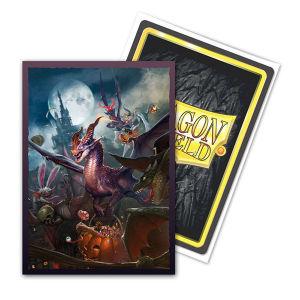 Dragon Shield Sleeves: Brushed Art - Matte Halloween Dragon 2021 (100)