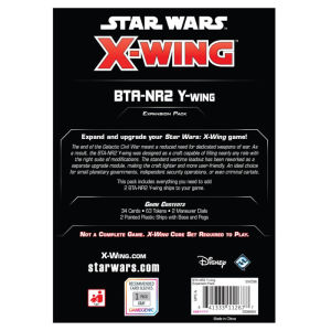 X-Wing Second Edition: BTA-NR2 Y-Wing Expansion Pack