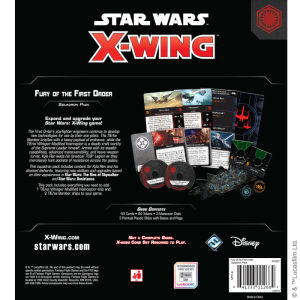 X-Wing Second Edition: Fury of the First Order Squadron Expansion Pack