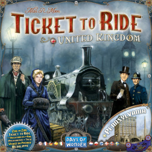 Ticket to Ride: United Kingdom & Pennsylvania Expansion Map Collection 5