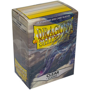 Dragon Shield Sleeves: Clear (100)