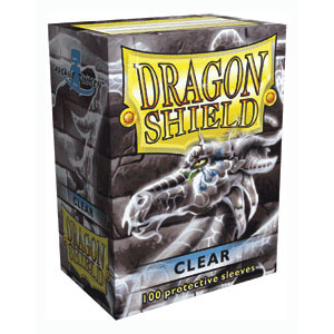 Dragon Shield Sleeves: Clear