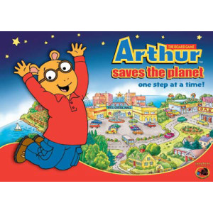 Arthur Saves the Planet Board Game